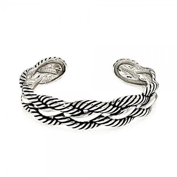 Brass Rope Cuff Bracelet SBBG00001