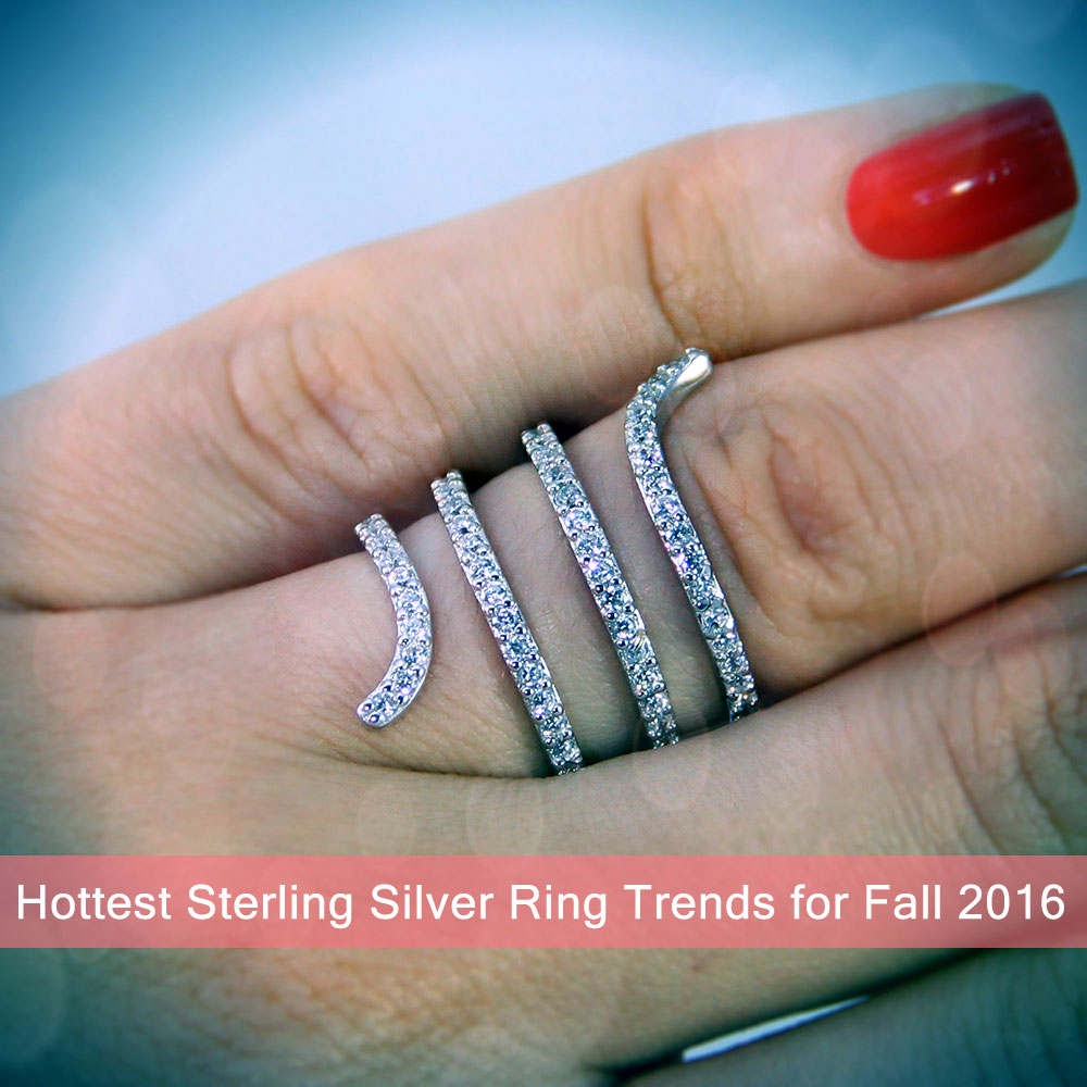 Hottest Sterling Silver Ring Trends for Fall 2016