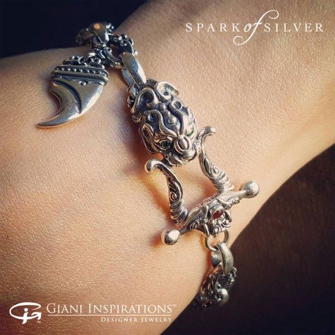 How to Wear Sterling Silver Bracelets