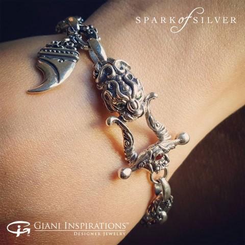 How to Wear Sterling Silver Bracelets