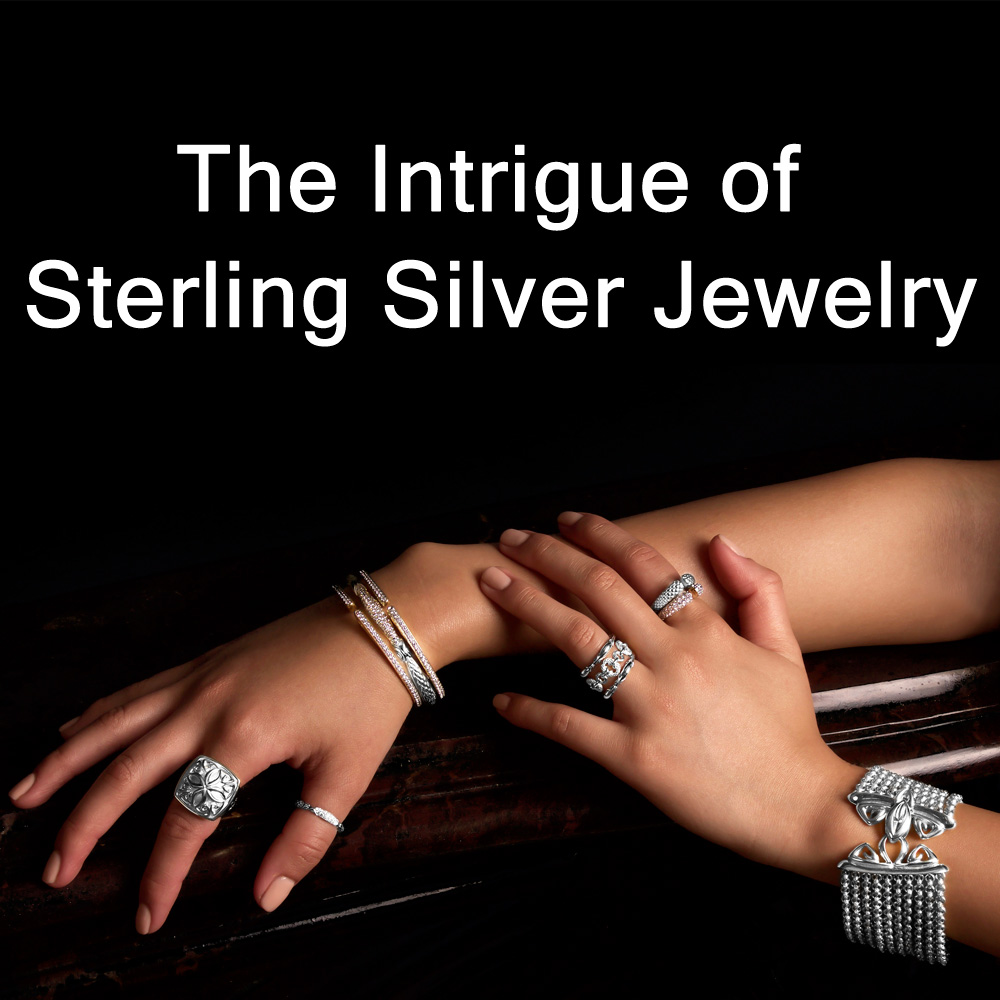 The Intrigue of Sterling Silver Jewelry