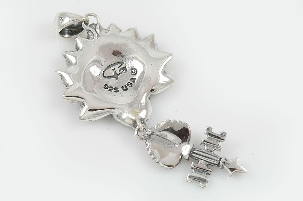 Giani inspirations om hinduism symbol lotus key with wing silver om symbol lotus key with wing silver pendant pt 114 aloadofball Gallery