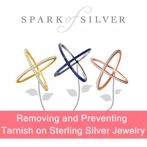 Removing and Preventing Tarnish on Sterling Silver Jewelry