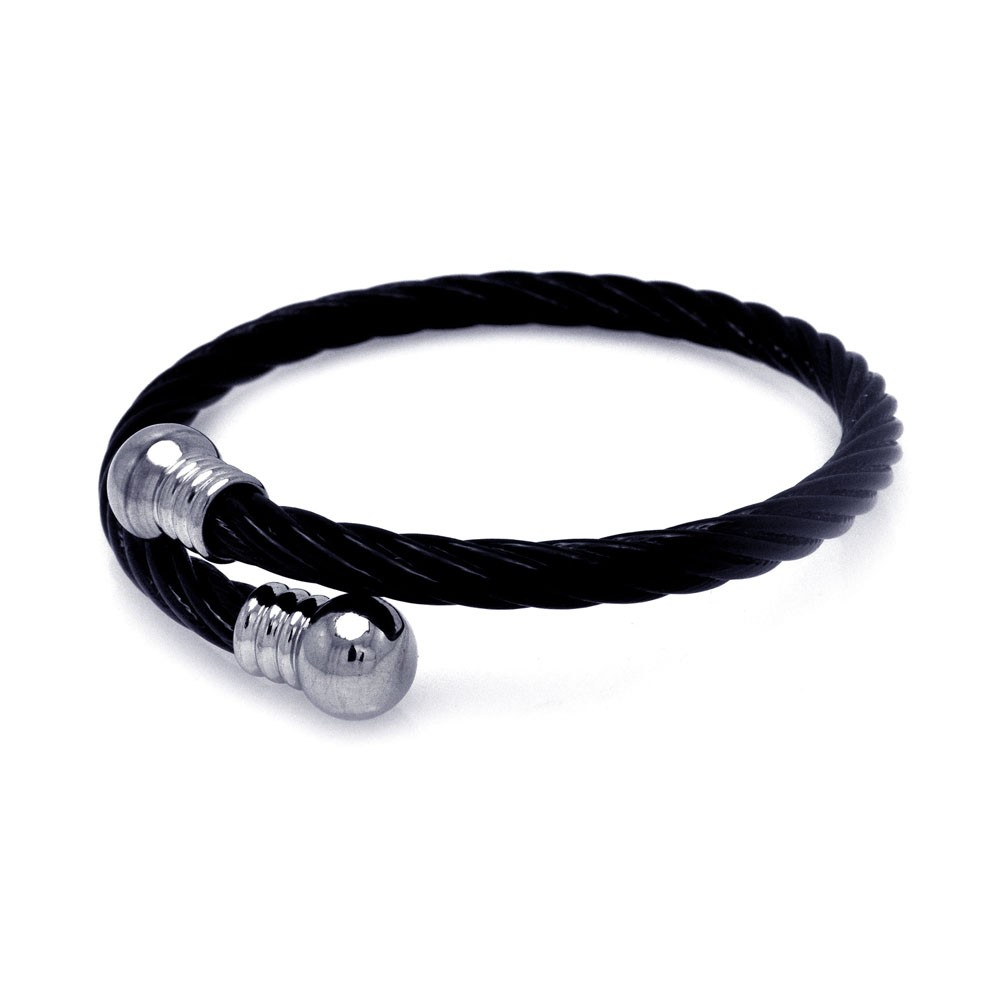 Coated Stainless Steel Rings Strap