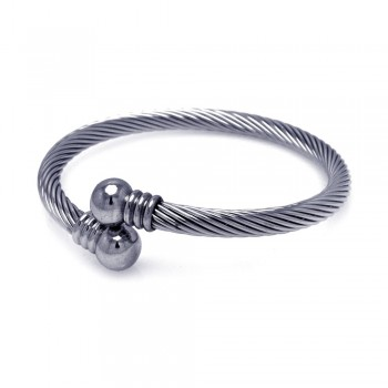 Stainless Steel Cable Bracelet SSBB00010
