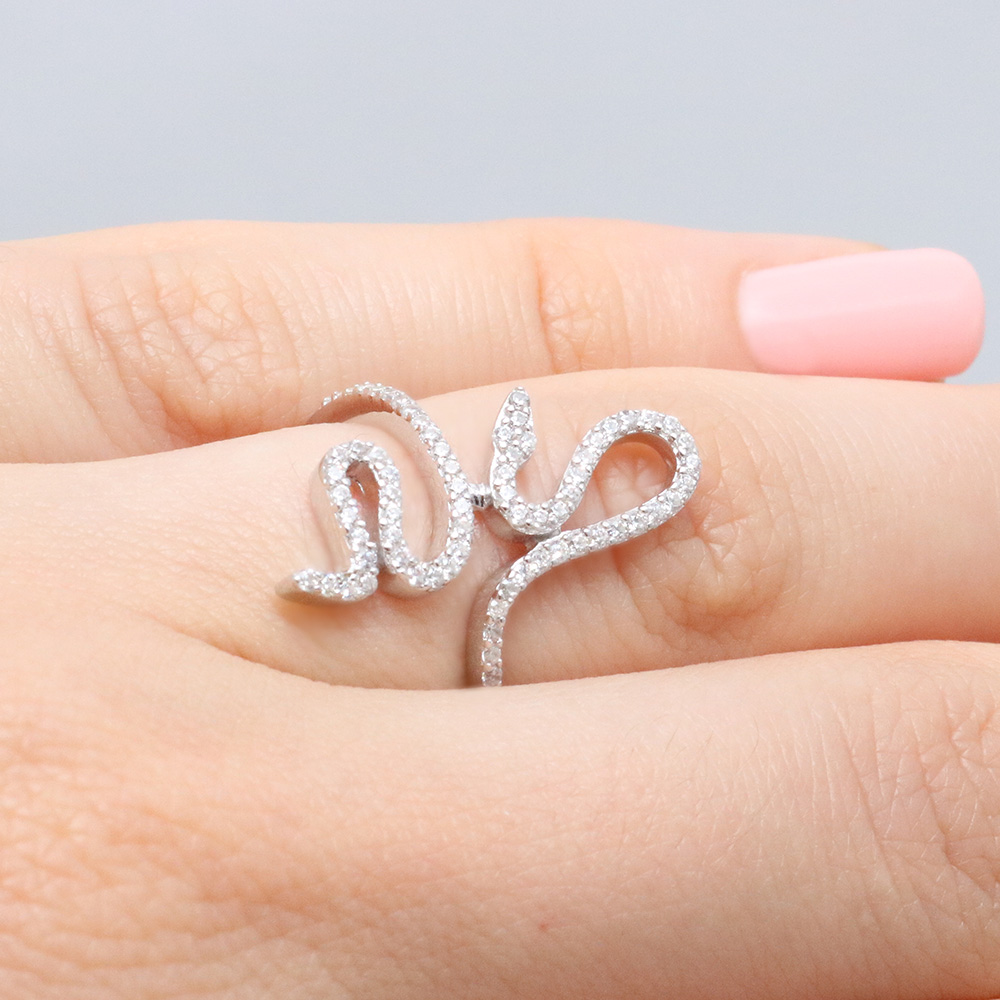 unique female jewelry in cool silver rbvajfmuf rings product snake wedding color stainless ouroboros fashion steel male ring size
