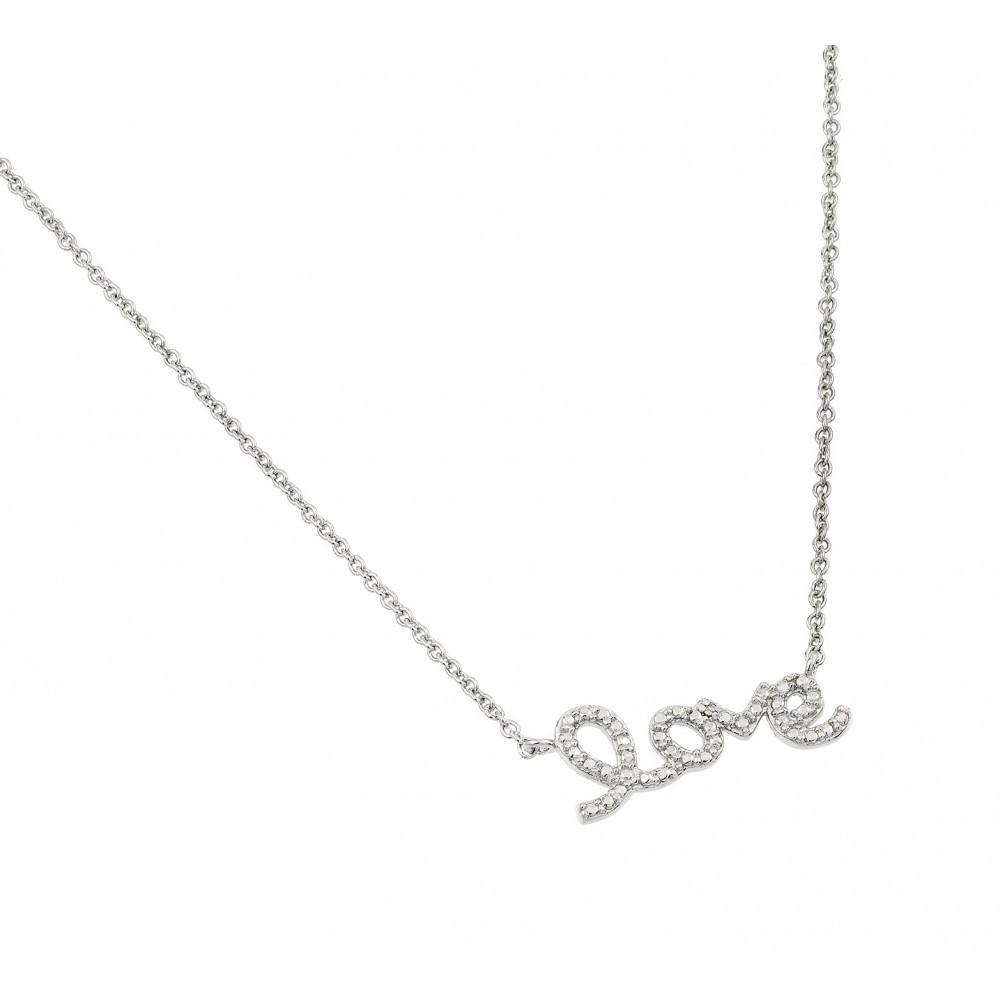 Love Pendant Necklace