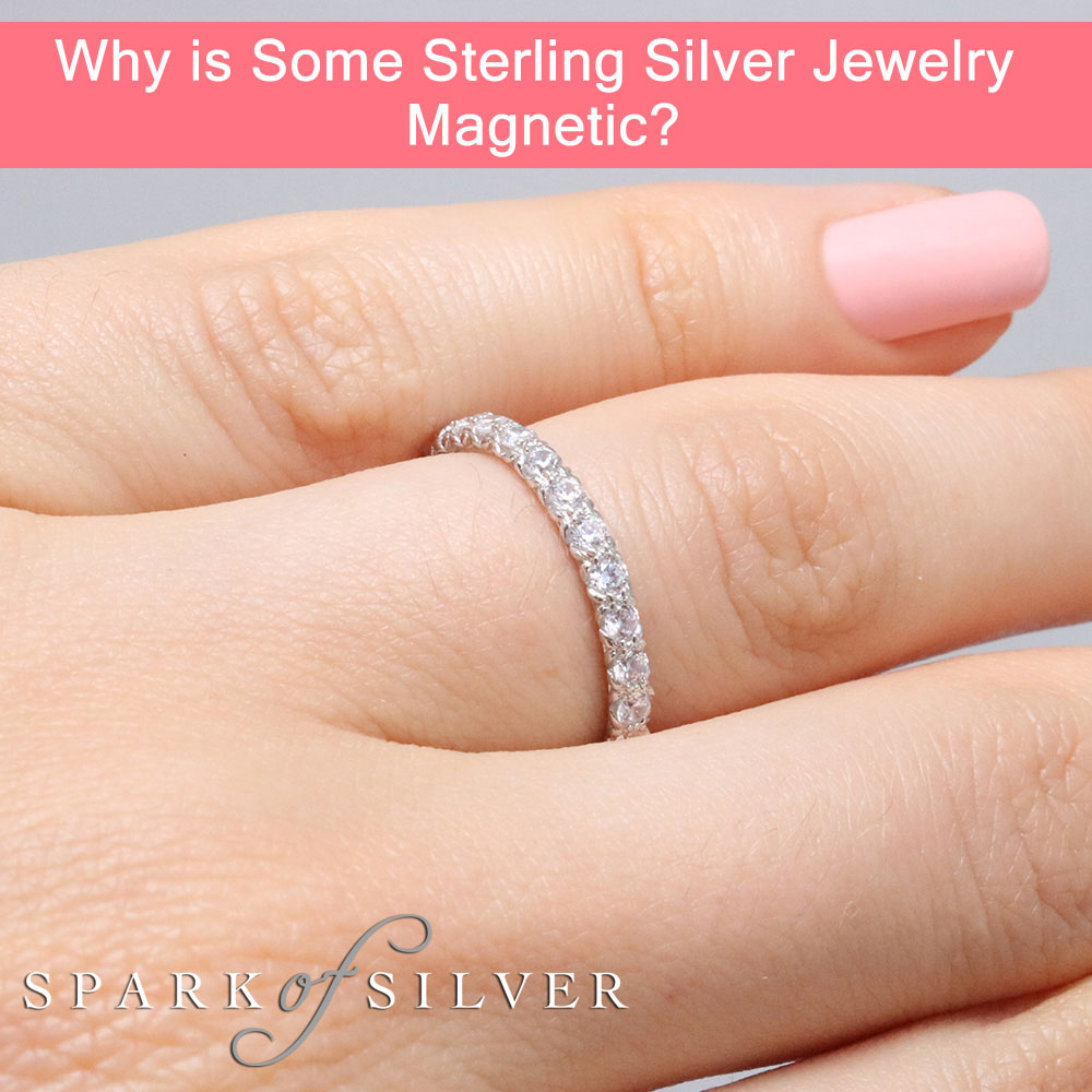 Why is Some Sterling Silver Jewelry Magnetic?
