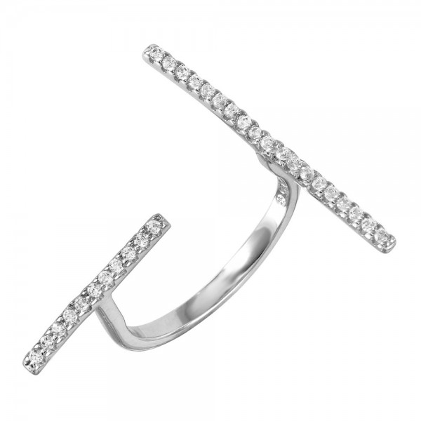 Sterling Silver Open End Ring SBGR00976