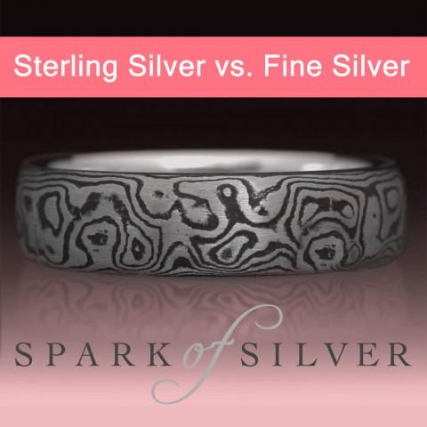Sterling Silver vs. Fine Silver: A Comparison
