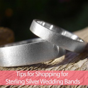 Tips for Shopping for Sterling Silver Wedding Bands