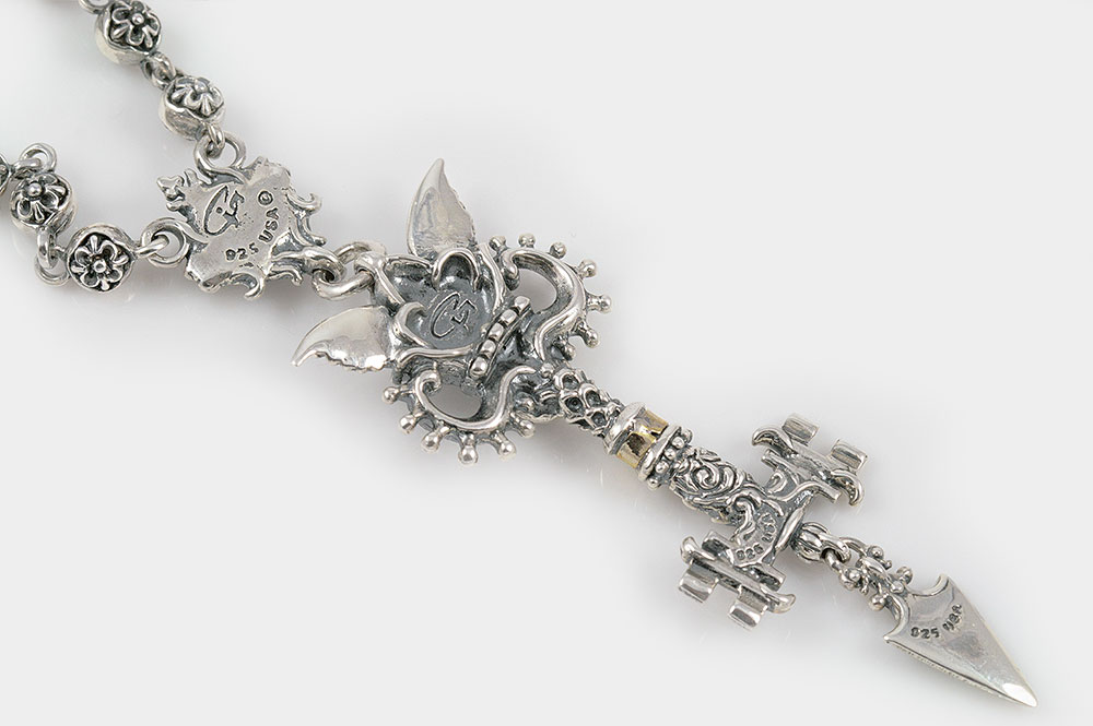 Giani Inspirations Underworld Keys Of Hades Greek Gothic Silver